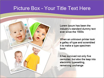 Angry little boy PowerPoint Template - Slide 23
