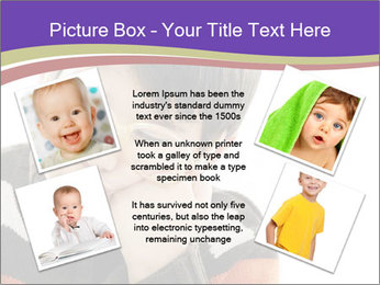 Angry little boy PowerPoint Template - Slide 24
