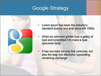 Portrait of girls PowerPoint Templates - Slide 10