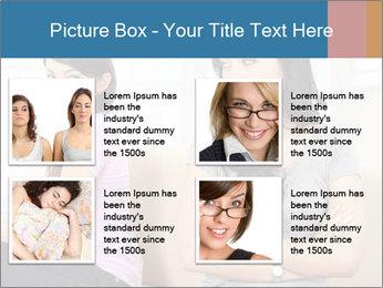 Portrait of girls PowerPoint Templates - Slide 14