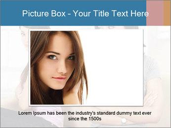 Portrait of girls PowerPoint Templates - Slide 15