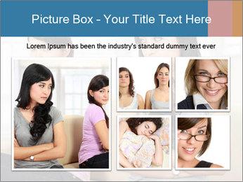 Portrait of girls PowerPoint Templates - Slide 19