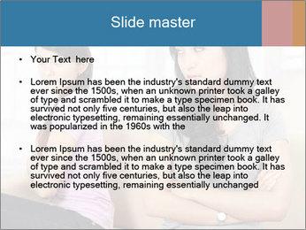 Portrait of girls PowerPoint Templates - Slide 2