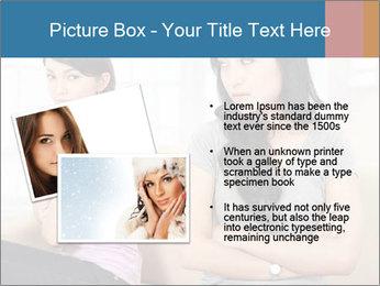 Portrait of girls PowerPoint Templates - Slide 20