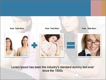 Portrait of girls PowerPoint Templates - Slide 22