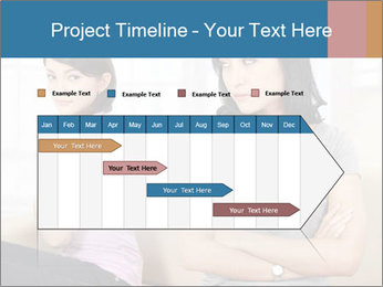 Portrait of girls PowerPoint Templates - Slide 25