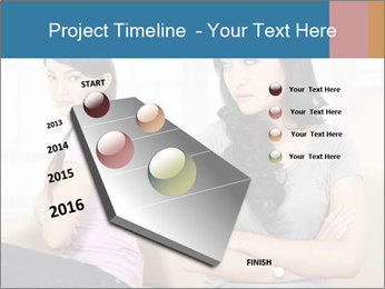 Portrait of girls PowerPoint Templates - Slide 26