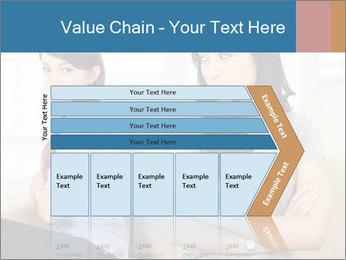 Portrait of girls PowerPoint Templates - Slide 27
