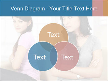 Portrait of girls PowerPoint Templates - Slide 33