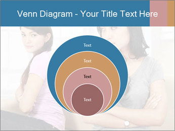 Portrait of girls PowerPoint Templates - Slide 34