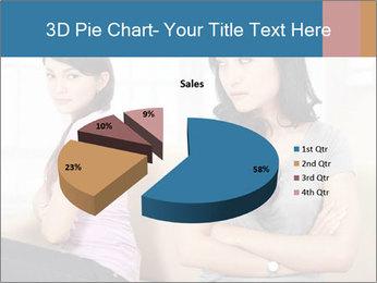 Portrait of girls PowerPoint Templates - Slide 35