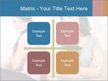 Portrait of girls PowerPoint Templates - Slide 37