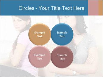 Portrait of girls PowerPoint Templates - Slide 38