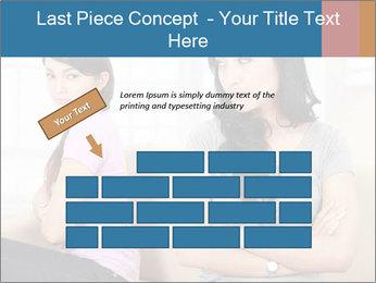 Portrait of girls PowerPoint Templates - Slide 46