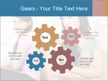 Portrait of girls PowerPoint Templates - Slide 47