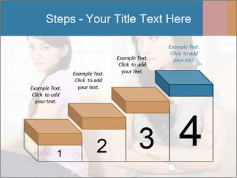 Portrait of girls PowerPoint Templates - Slide 64