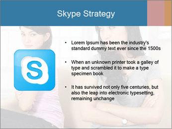 Portrait of girls PowerPoint Templates - Slide 8