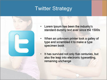 Portrait of girls PowerPoint Templates - Slide 9