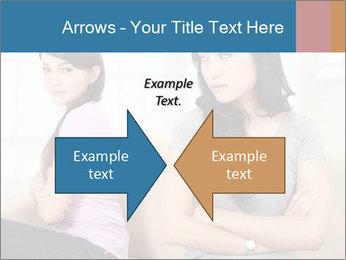 Portrait of girls PowerPoint Templates - Slide 90