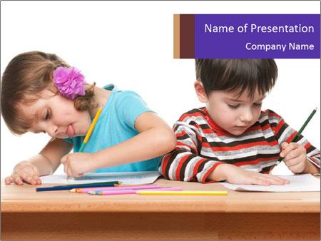 Little boy PowerPoint Templates