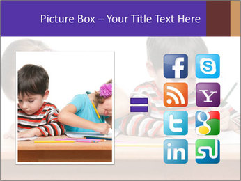 Little boy PowerPoint Templates - Slide 21