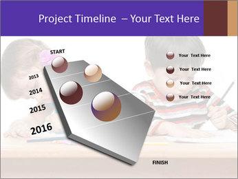 Little boy PowerPoint Templates - Slide 26