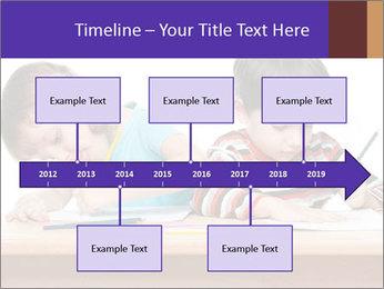Little boy PowerPoint Templates - Slide 28