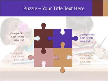 Little boy PowerPoint Templates - Slide 43