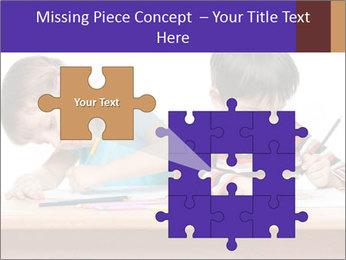 Little boy PowerPoint Templates - Slide 45