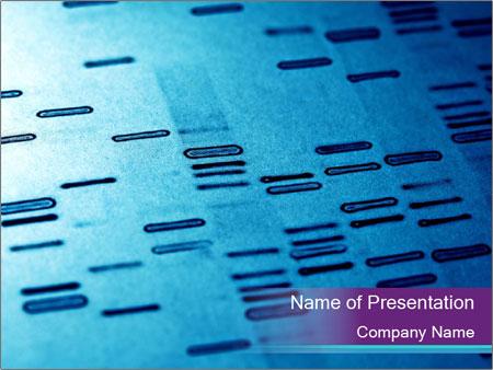 DNA fingerprints PowerPoint Templates