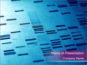 DNA fingerprints PowerPoint Templates - Slide 1