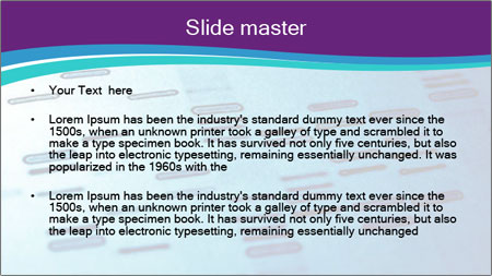 DNA fingerprints PowerPoint Template - Slide 2