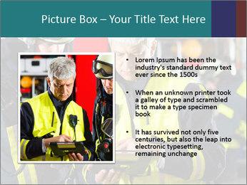 Fire brigade PowerPoint Template - Slide 13