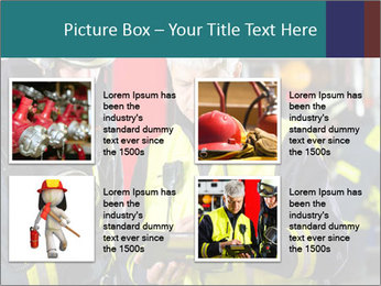 Fire brigade PowerPoint Template - Slide 14