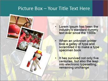 Fire brigade PowerPoint Template - Slide 17