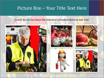Fire brigade PowerPoint Template - Slide 19