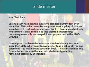 Fire brigade PowerPoint Template - Slide 2