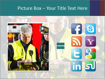 Fire brigade PowerPoint Template - Slide 21