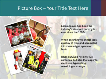 Fire brigade PowerPoint Template - Slide 23