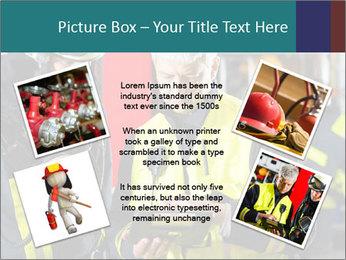Fire brigade PowerPoint Template - Slide 24