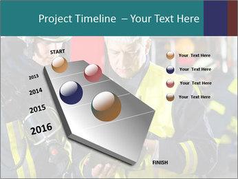 Fire brigade PowerPoint Template - Slide 26
