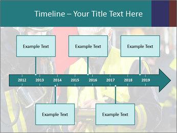 Fire brigade PowerPoint Template - Slide 28
