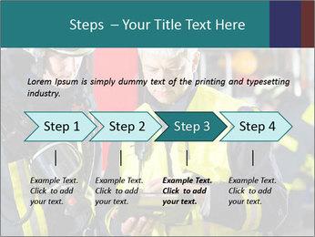Fire brigade PowerPoint Template - Slide 4
