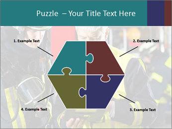 Fire brigade PowerPoint Template - Slide 40