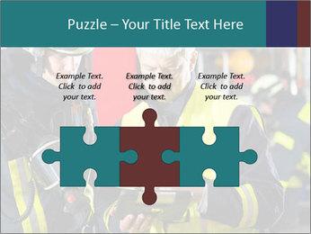 Fire brigade PowerPoint Template - Slide 42