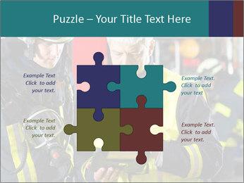 Fire brigade PowerPoint Template - Slide 43