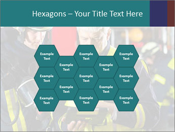 Fire brigade PowerPoint Template - Slide 44