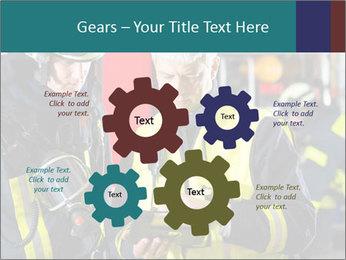 Fire brigade PowerPoint Template - Slide 47