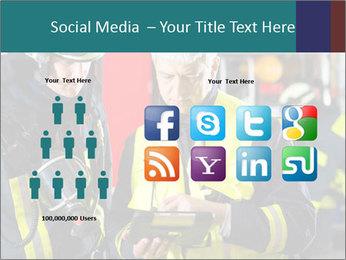 Fire brigade PowerPoint Template - Slide 5
