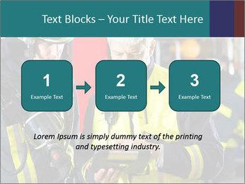 Fire brigade PowerPoint Template - Slide 71